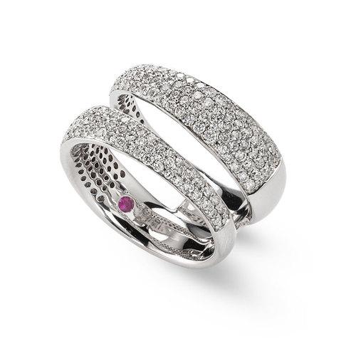 Кольцо Roberto Coin Diamond Classic ADR888RI0940 12
