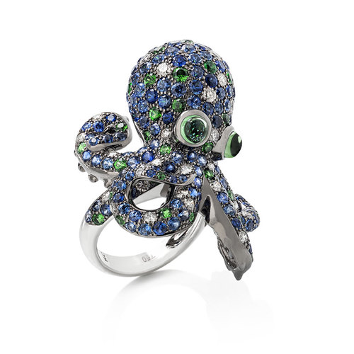 Кольцо Roberto Coin Octopus ADV378RI0038