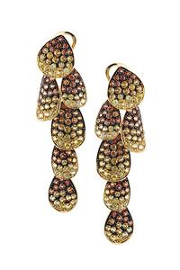 Cantamessa Autumn Leaves Earrings PER 689