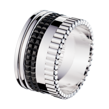Boucheron Quatre Black Edition Large Ring