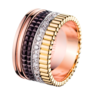 Boucheron Quatre Classique Large Ring With Diamonds
