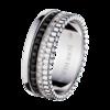 Boucheron Quatre Black Edition Small Ring With Diamonds