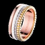 Boucheron Quatre White Edition Small Ring With Diamonds