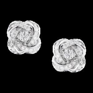 Boucheron Ava Pivoine Stud Earrings