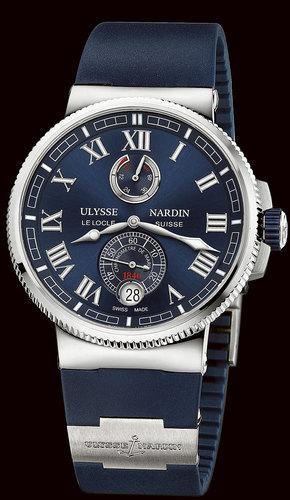 Ulysse Nardin Marine Collection Chronometer Manufacture 1183-126-3/43