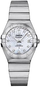 Omega Constellation Lady Brushed Chronometer 123.10.27.20.55.001