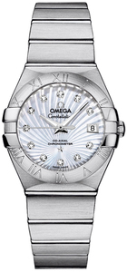 Omega Constellation Lady Brushed Chronometer 123.10.27.20.55.001