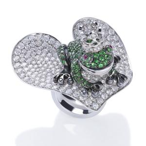 Cantamessa Lotus Ring R01001G