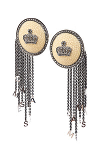Cantamessa Galusha Earrings GTER 456