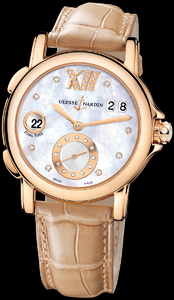 Ulysse Nardin Dual Time Ladies Small Seconds 246-22/391