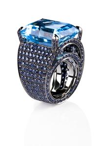 Cantamessa Topaz Ring R 0704