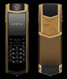 VERTU SIGNATURE S DESIGN CLOUS DE PARIS КРАСНОЕ ЗОЛОТО
