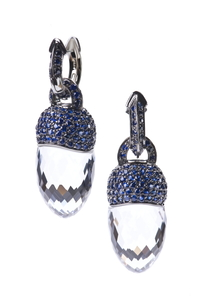 Cantamessa Central Park Blue Sapphires Earrings E0580 BL