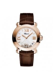 Chopard Happy Sport Medium Watch Rose Gold 277471-5002