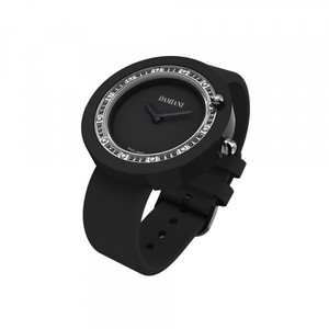 Damiani BELLE EPOQUE Black Ceramic and Diamonds 30014565