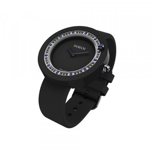 Damiani BELLE EPOQUE Black Ceramic and Sapphires 30014567