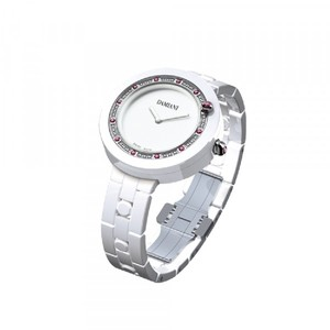 Damiani BELLE EPOQUE White Ceramic Diamonds and Rubies 30017759