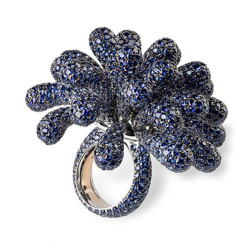 Cantamessa Clavette Ring blue R0730B