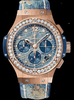 Hublot Big Bang Jeans Gold Diamonds 41mm 341.PL.2780.NR.1204.JEANS