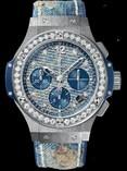 Hublot Big Bang Jeans Steel Diamonds 41mm 341.SL.2770.NR.1204.JEANS