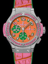 Hublot Big Bang Pop Art Steel Rose 41mm 341.SP.4779.LR.1233.POP15
