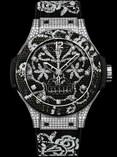 Hublot Big Bang 41 mm Broderie Steel Diamonds 343.SX.6570.NR.0804