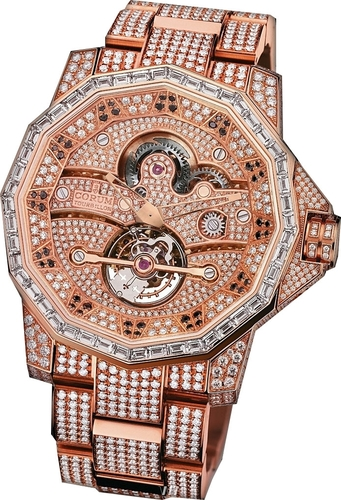Corum Admiral's Cup 48 Tourbillon High Jewelry 372.931.85/V703 0000