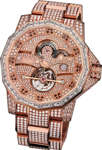 Corum Admiral's Cup 48 Tourbillon High Jewelry 372.931.85/V703 0000
