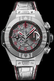Hublot Big Bang 45 mm Unico World Poker Tour Steel 411.SX.1170.LR.WPT15