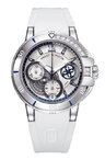 Harry Winston Ocean Sport Ladies' Chronograph 411/LCA38ZC.WD/D01