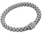 Fope браслет FLEX'IT NIUE White Gold Diamonds 418B BBRM