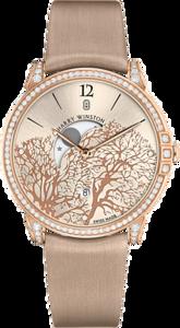 Женские часы Harry Winston Midnight Moon Phase 450/UQMP39RL.W1/D3.1