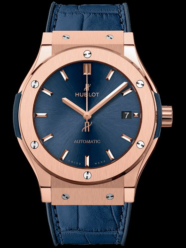 Hublot Classic Fusion Blue King Gold 45mm 511.OX.7180.LR