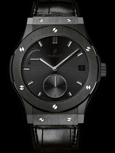 Hublot Classic Fusion Power Reserve All Black 45mm 516.CM.1440.LR