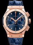 Hublot Classic Fusion Blue Chronograph King Gold 45mm 521.OX.7180.HR