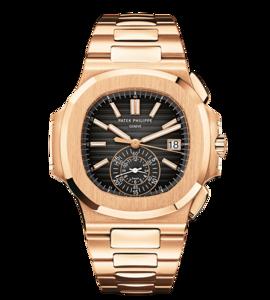 Patek Philippe Nautilus Chronograph Rose Gold 5980/1R-001