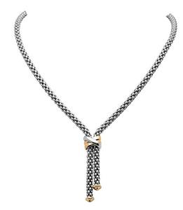 Fope колье FLEX'IT SOLO White Gold Necklace 636FR