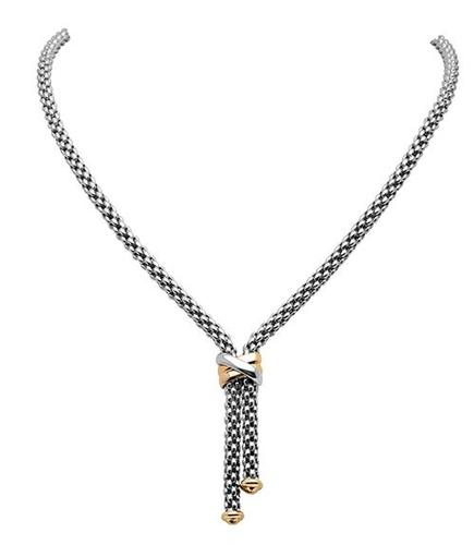 Fope колье FLEX'IT SOLO White Gold Necklace 636FR