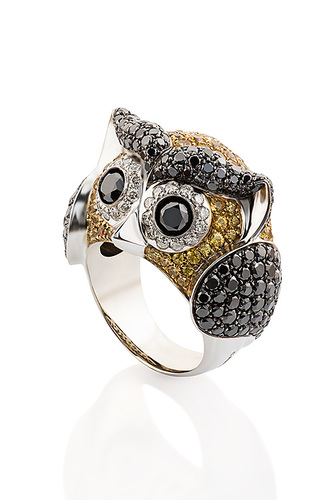 Cantamessa Owl ring RA 9-1