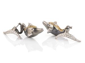Cantamessa Dolphin Earrings EDP1037