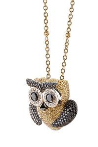 Cantamessa Owl Pendant POW 1255