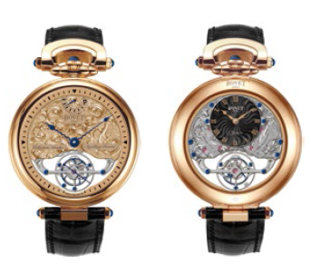 Bovet Fleurier Amadeo 45 7-Day Tourbillon Reversed Hand-Fitting AIF0T005