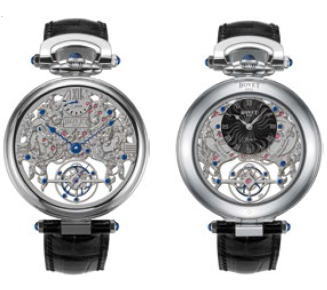 Bovet Fleurier Amadeo 45 7-Day Tourbillon Reversed Hand-Fitting AIFSQ016