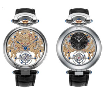 Bovet Fleurier Amadeo 45 7-Day Tourbillon Reversed Hand-Fitting AIFSQ018