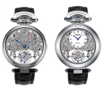 Bovet Fleurier Amadeo 45 7-Day Tourbillon Reversed Hand-Fitting AIFSQ022