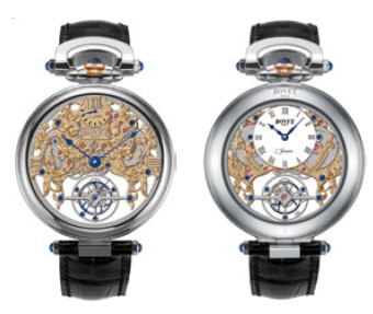 Bovet Fleurier Amadeo 45 7-Day Tourbillon Reversed Hand-Fitting AIFSQ024