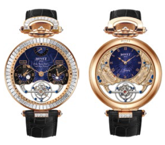 Bovet Fleurier Amadeo 46 Rising Star Triple Time Zone Tourbillon Reversed Hand-Fitting AIRS007-SB123
