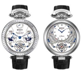 Bovet Fleurier Amadeo 46 Rising Star Triple Time Zone Tourbillon Reversed Hand-Fitting AIRS020-SB123