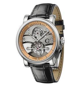 Arnold & Son Tourbillon Sir John (WG-RG / Silver / Leather)