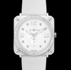 Bell & Ross BR S White Ceramic Phantom & Diamond